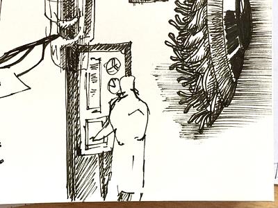 Random sketch liner drawing sketch artwork