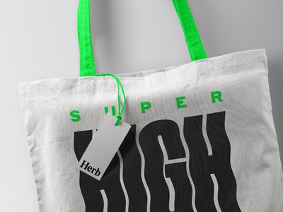 Super High Tote Bag