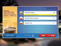 Touch Screen Ordering System Design - Order