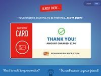 Touch Screen Ordering System Design - Card
