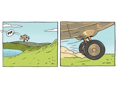 Comic 1.2 drawing comic inking painting procreate cartoon character design illustration
