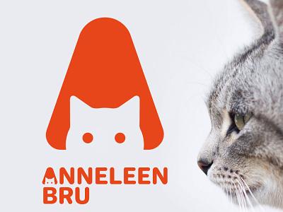 Anneleen Bru logo cat logo