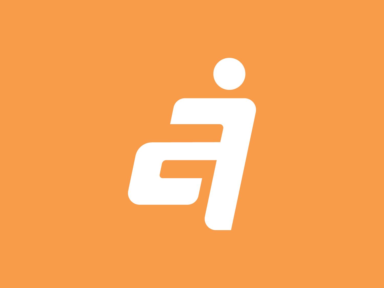 Active Vietnam logotype identity icon emblem vector typography type minimal branding design logo packaging health energy jump nutrition sport care vietnamese active