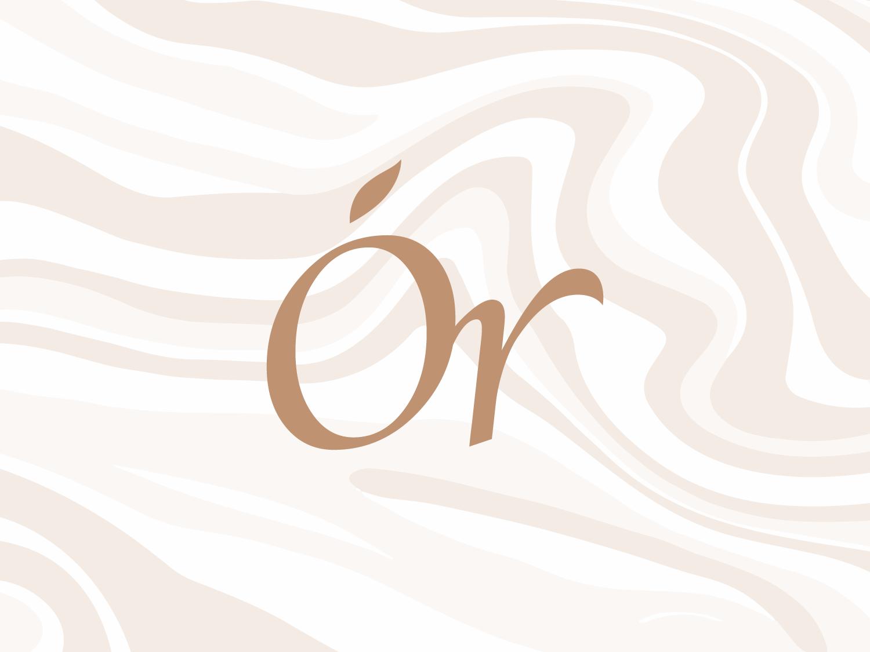 Organita illustration care health packaging beauty logotype mark emblem identity branding logo icon art vietnamese vector typography type minimal design