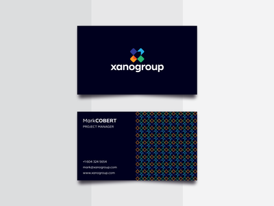 XanoGroup Business Card