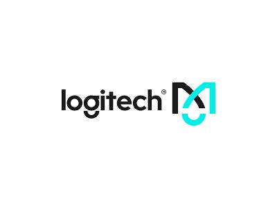 DESIGN TO THE MX development software tech technology logo design x letter m letter logotype logi mouse mx letter x letter m logitech logo