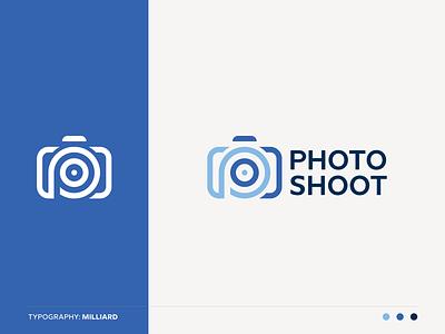 Photo Shoot Logo zoom target technology studio shutter picture photography photographer photo p letter media identity brand logo letter p lens focus eye camera cam