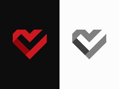 Cardio Check Logo friendship family like verify valentines day doctor icon brand identity medical mark love logo heart health gym fitness check care cardiology cardio