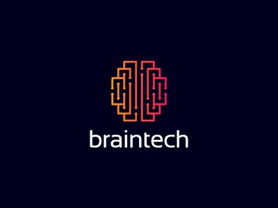 Brain Tech Logo technology smart neurology neurons network maze logo labyrinth intelligence geek game digital development data creative cortex cerebral brainstorm brain artificial