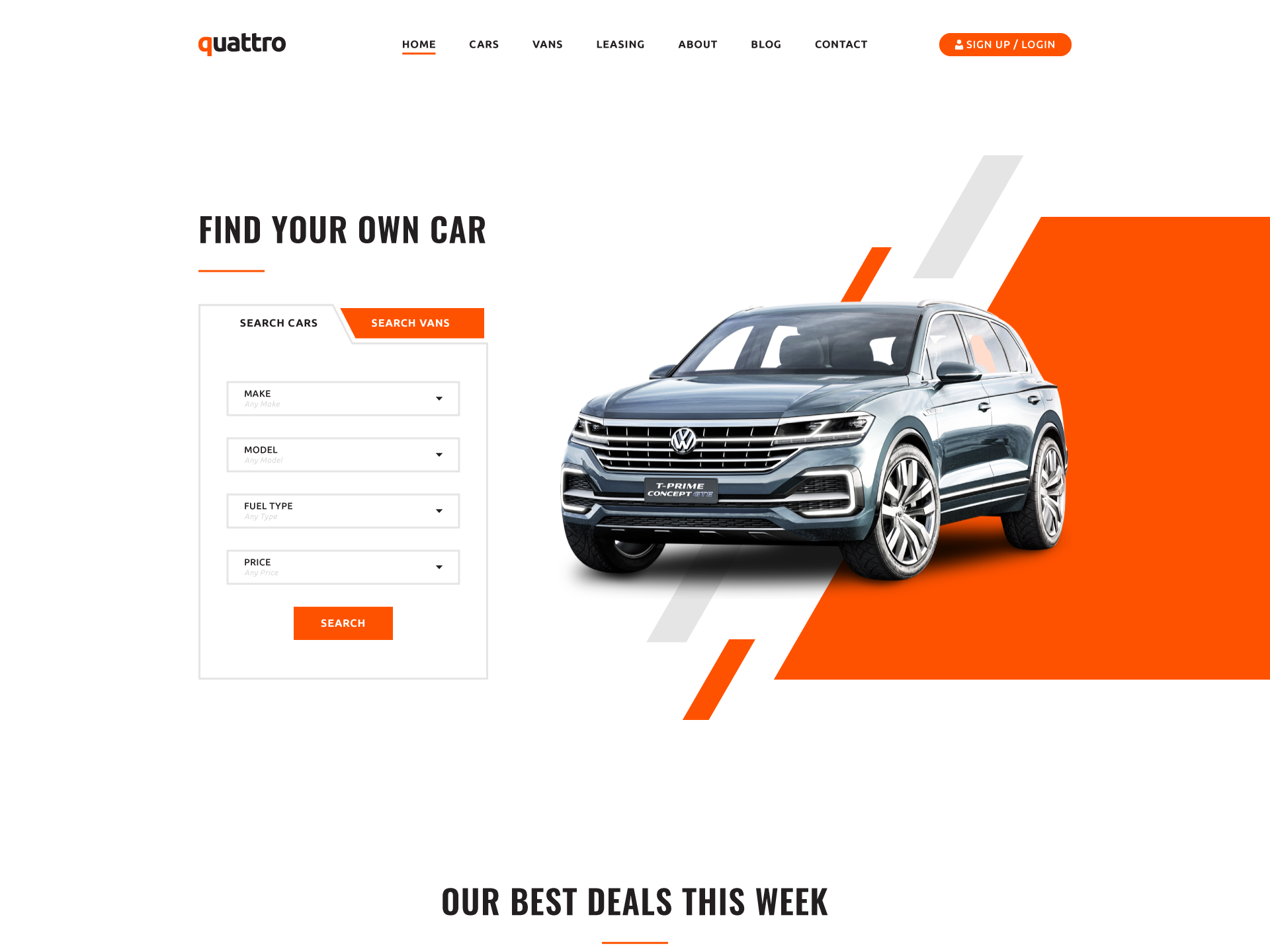 Lease To Own Car >> Car Lease Web Page By Alin Ionita On Dribbble