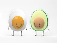 Egg + Avocado