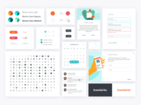 Eventbrite Design System Stickersheet