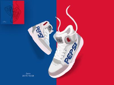 Pepsi Cola shoes