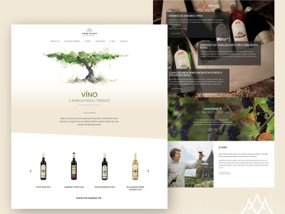 The local winery wine bottle nature green beige design web winery wine