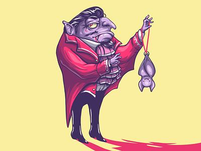 Count Dracula horrormovie bat character horrorcharacter dracula drawing sketching sketch illustration