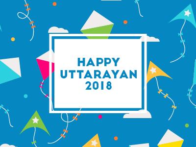 Happy Uttarayan 2018 by Famedesk on Dribbble