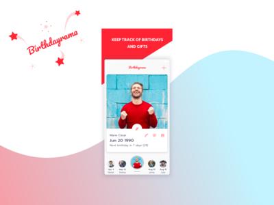 Birthdayrama iOS app is out!
