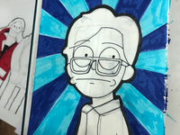 Me in rick and morty style