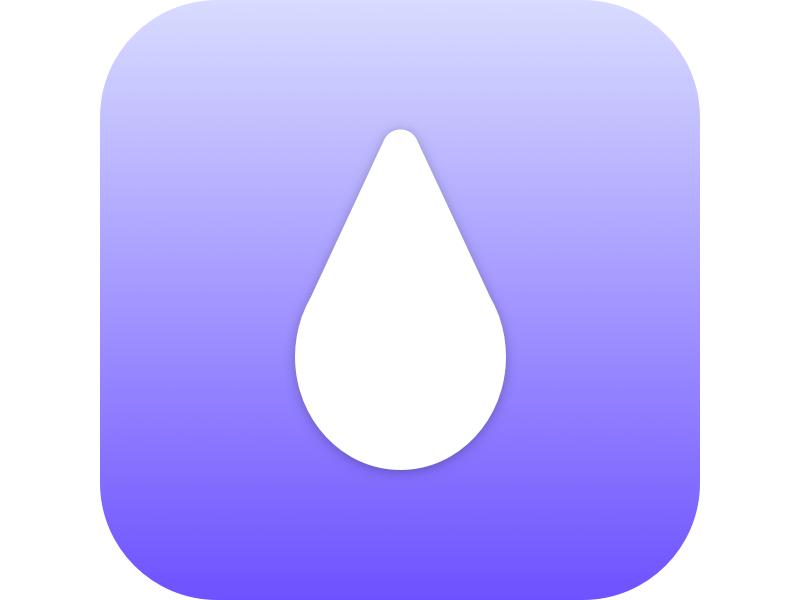 Waterdrop App Icon drop icon app water