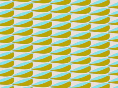 PATTERN Island Leaf 2019 colorways vector art pattern design surfacedesign