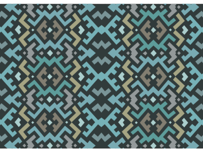 Earthmother Pattern for Custom Poker Cards vector art custompokercards pokercards surfacedesigns guatopodesigns