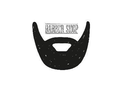 Barber Shop sketch line illustrator illustration design black shop barber challenge logo daily