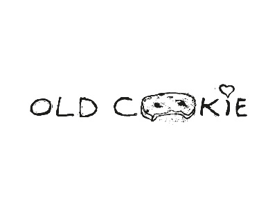 Old Cookie sketch line illustrator illustration design black logo challenge old  daily cookie