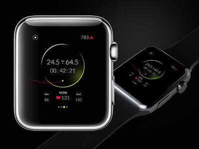 Apple Watch Fitness App design app fitness watch apple