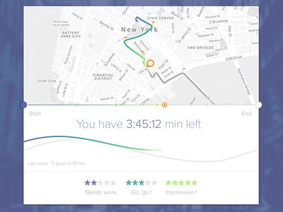 Sport UI time map ui sport