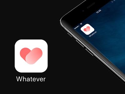 #dailyUI - 005- App Icon health love st-valentin heart icon app