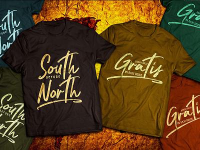 Tshirt (nocturnal Font) branding logo script font tshirt