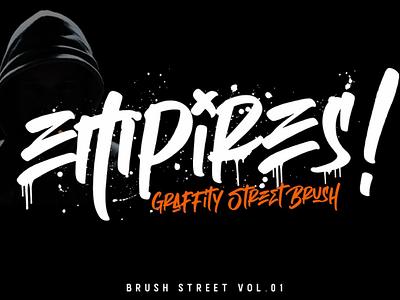Empires - Graffity Street Brush street hoodie cool urban brush graffity