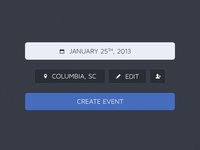 Event Creation – PSD