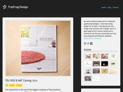 My website | TripFrog Design