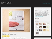 My website | TripFrog Design