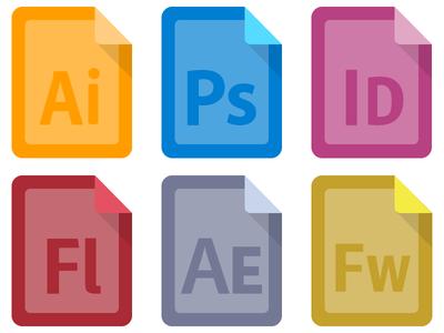 Adobe CS Icons - Draft