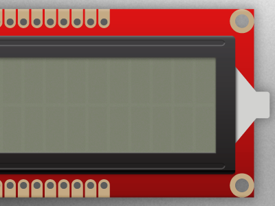 Project LCD Screen bildr