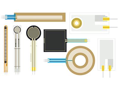 Parts2 illustrator bildr electronics flat retina