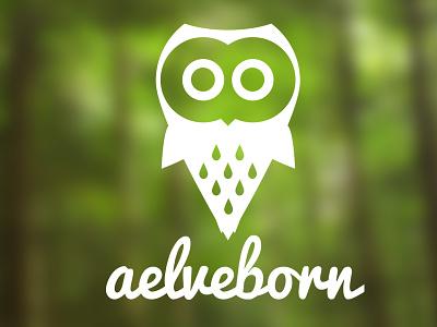 aelveborn owl owl icon logo logotype bird forrest payoff