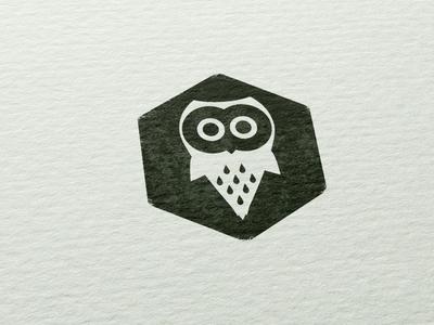 aelveborn owl stamp stamp icon logo logotype design aelveborn art owl paper inc