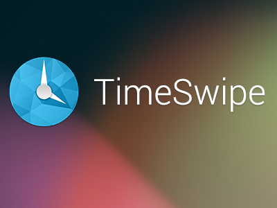 Timeswipe android logo timeswipe clock timer