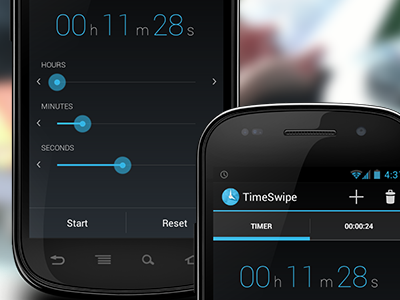 Timeswipe enhanced android timeswipe app clock timer countdown stopwatch free google