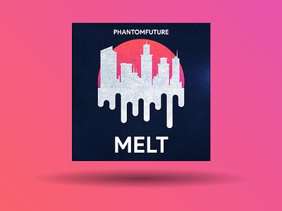 Melt branding illustration album music