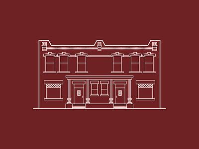 John Williams Encircle Home utah local vector branding illustration