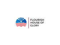 Florish house of Glory logo designs