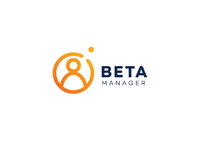 Beta manager logo design