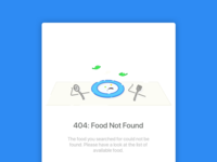 404 - Food not found