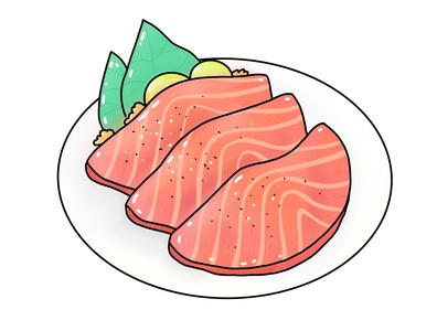 Sashimi digitalart food sashimi design icon illustration vector