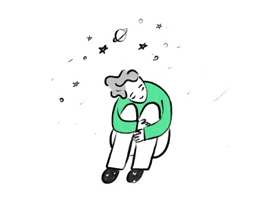 Dreams ✰⋆ dreamy dream nepal art doodle line minimal design icon illustration vector