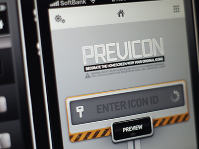 Icon Previewer WIP iphone